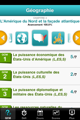 application iphone geographie hachette