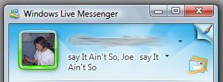 Comment changer l'image du décor avec MSN 2009
