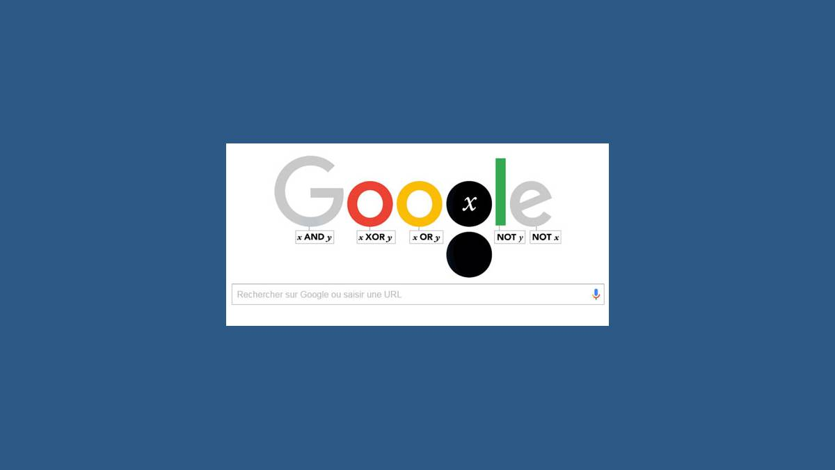 Doodle Georges Boole