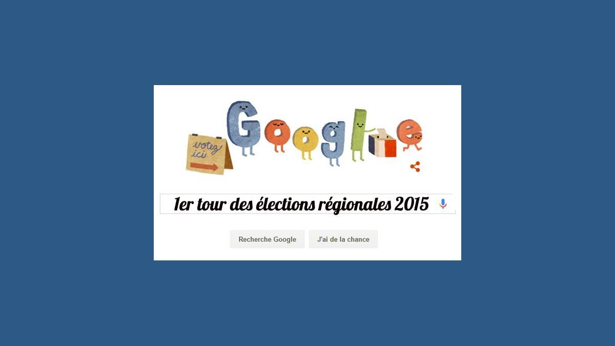 Doodle, Google, politique, élections, régionales
