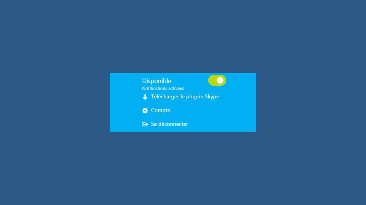 Skype Web dans votre navigateur Internet