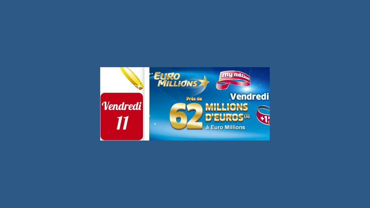 Euro Millions FDJ vendredi 11 décembre 2015