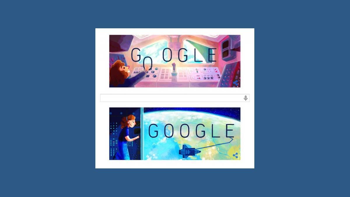 Le Doodle Sally Kristen Ride sur Google