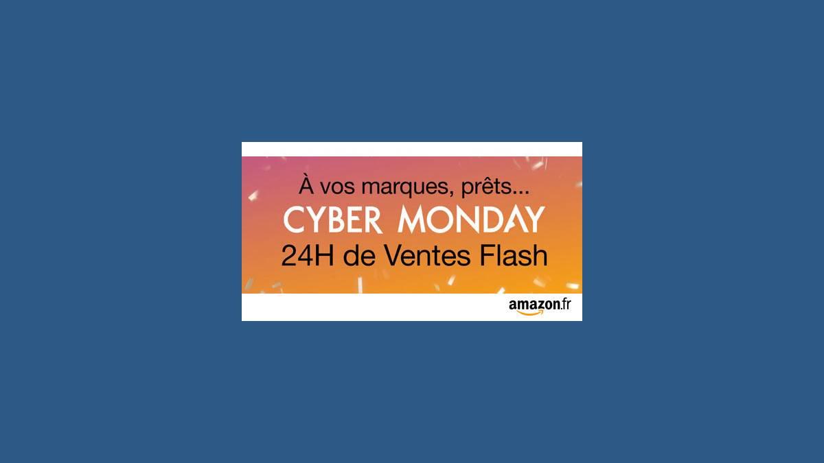 Amazon.fr : le dernier jour du Cyber Monday ce lundi 30 novembre