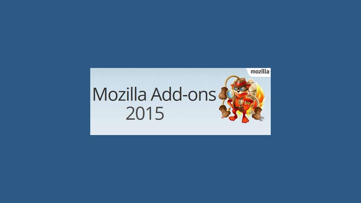 Firefox le top 10 des extensions en 2015