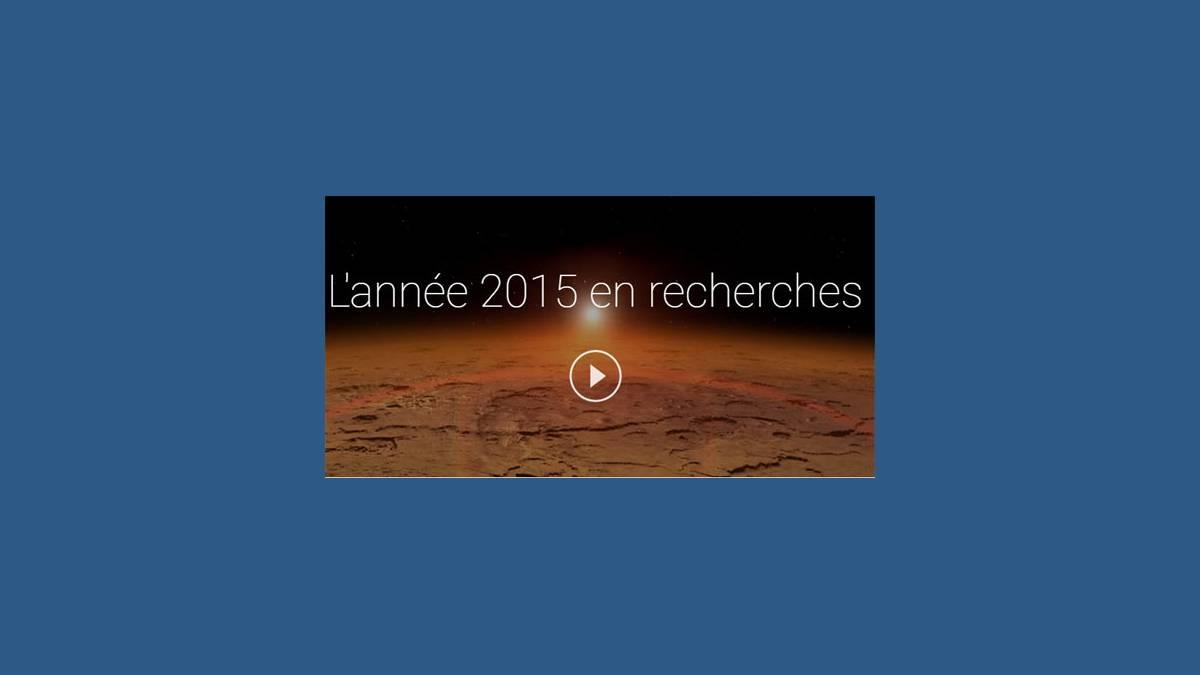 Google 2015 en recherches
