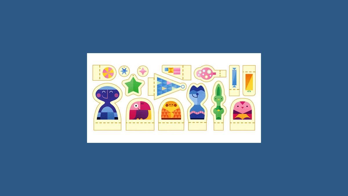 Doodle Joyeuses Fêtes 2015