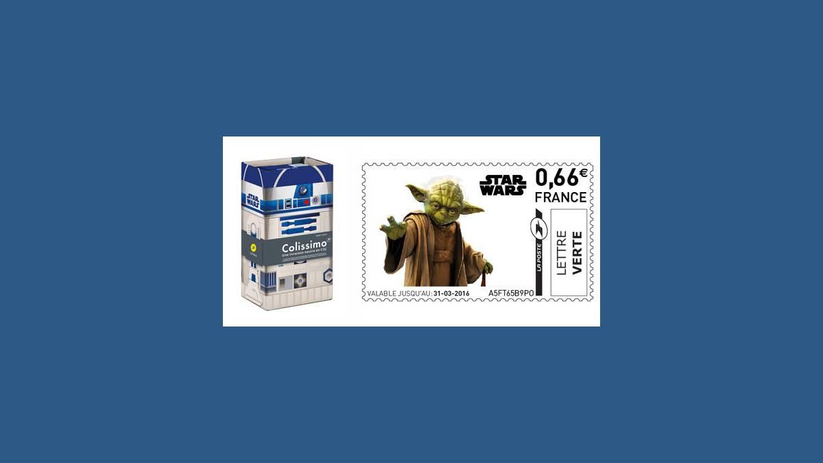 La Poste, Star Wars et Colissimo