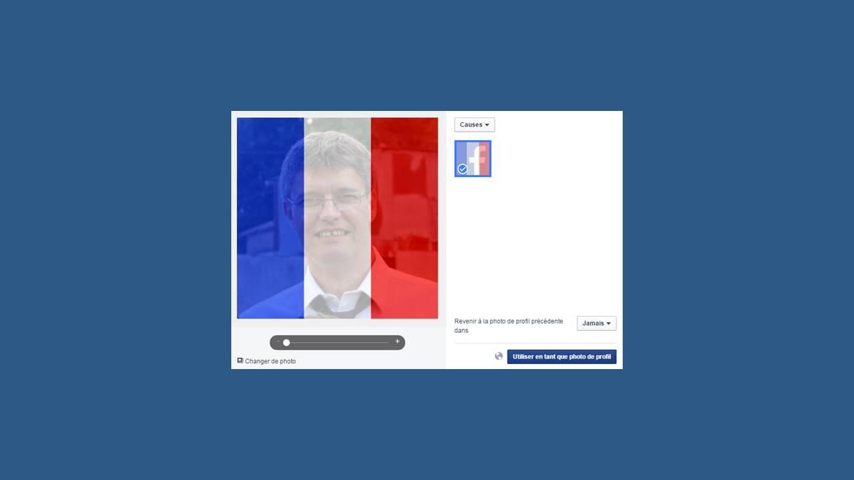 Facebook photo de profil soutien