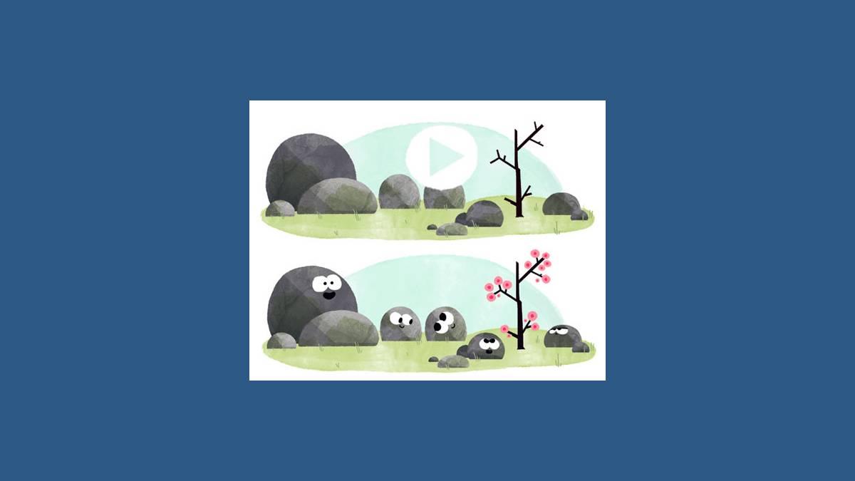 Doodle équinoxe de printemps