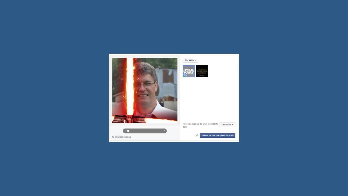 Facebook Star Wars