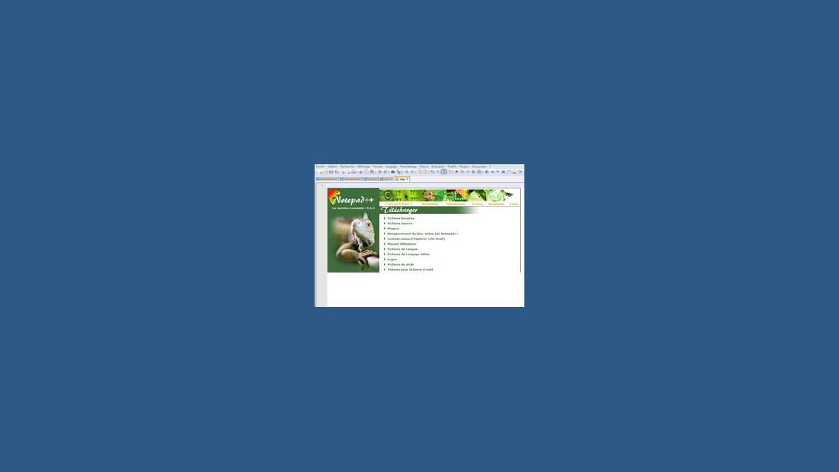 Notepad++ 6.8.6 Le super bloc-note