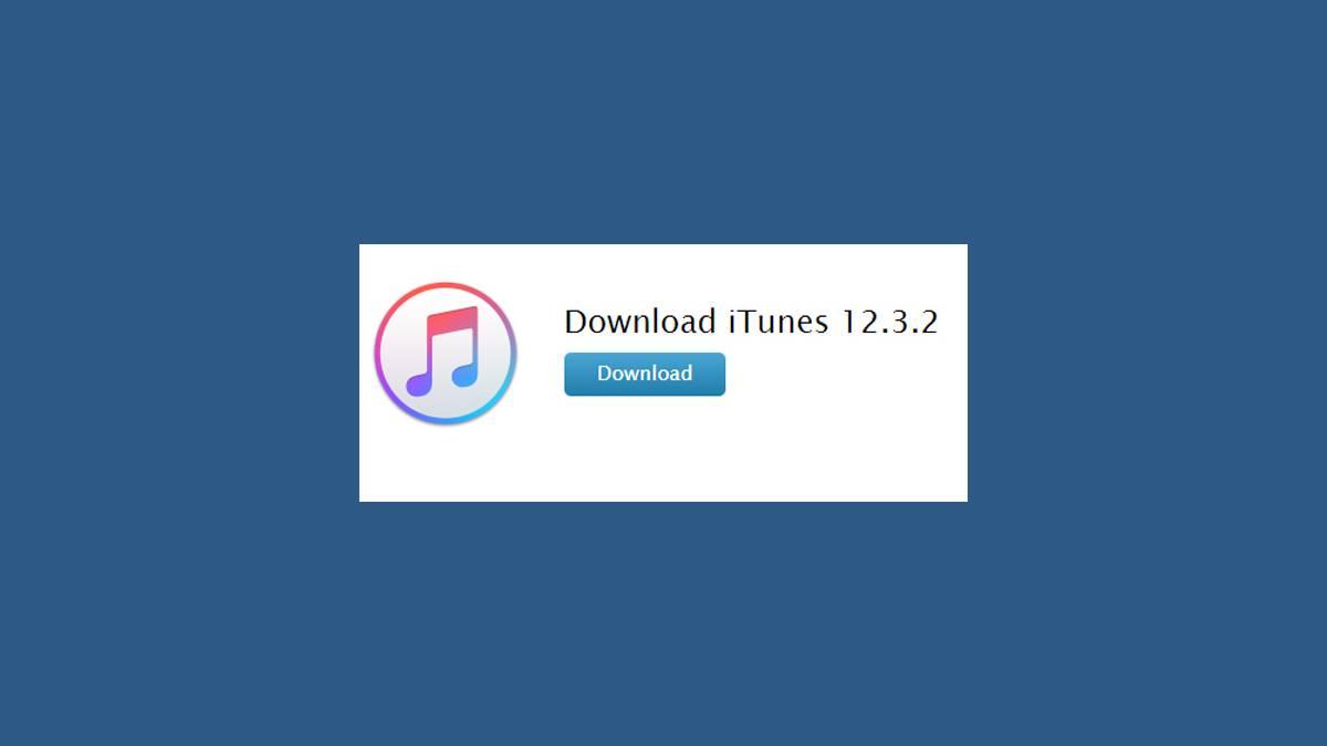 Téléchargement iTunes 12.3.2