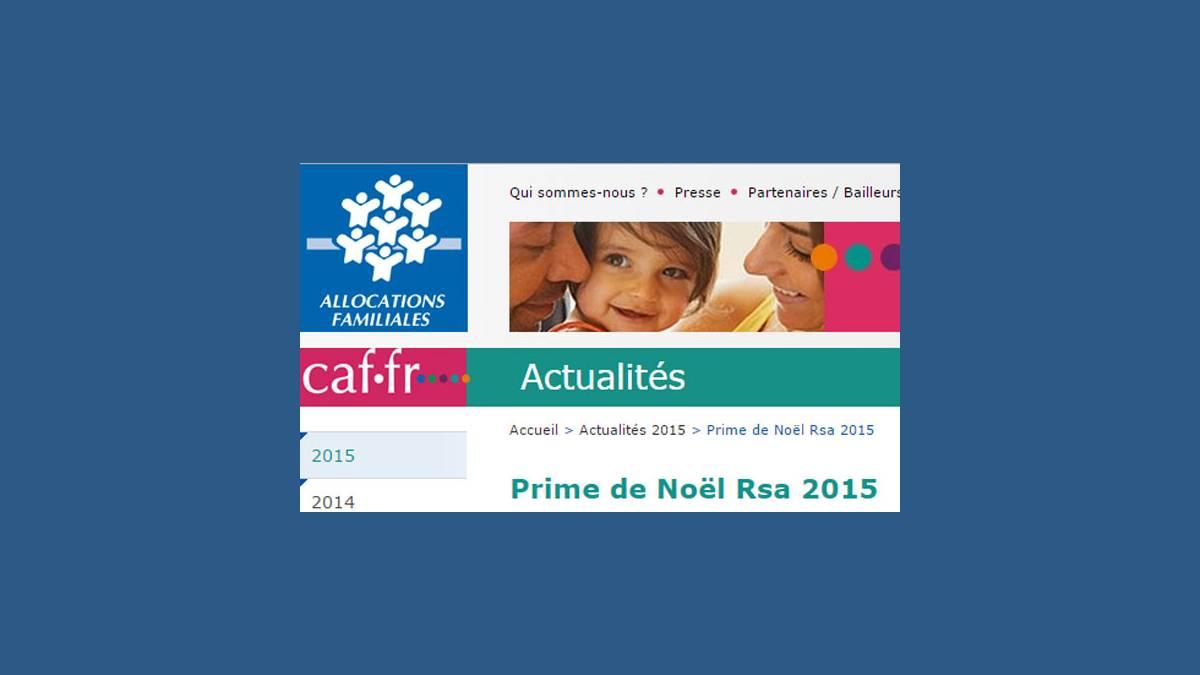 Prime RSA Noël 2015 (capture caf)
