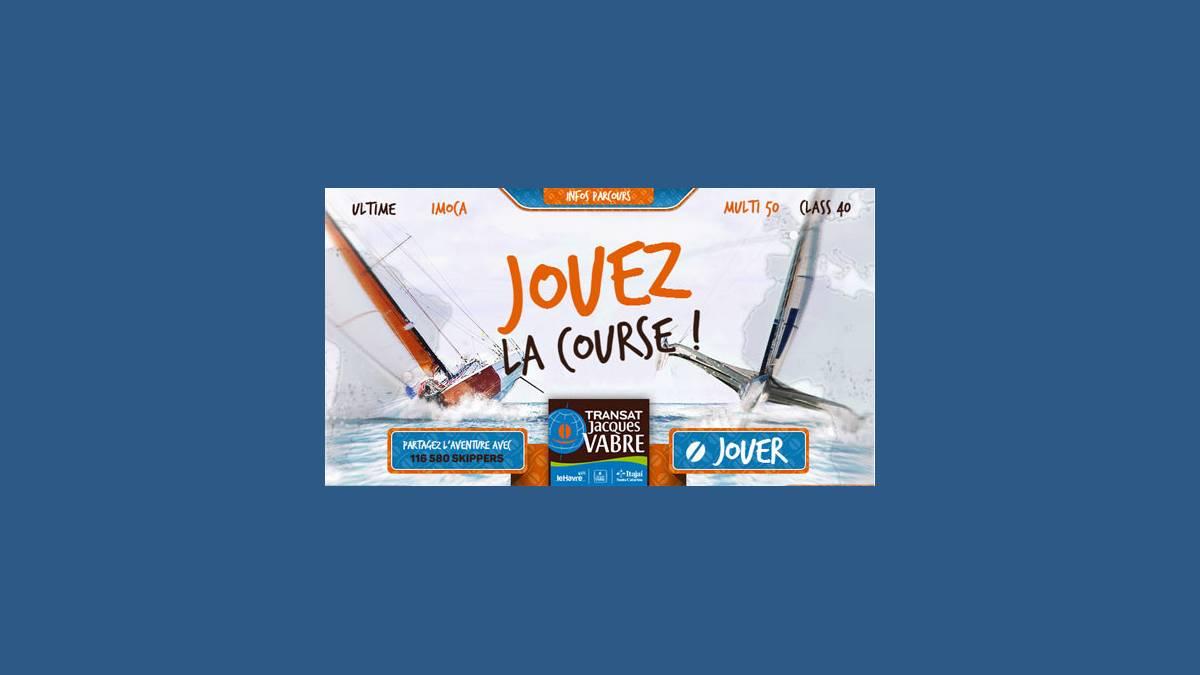 Transat Jacques Vabre sur Virtual Regatta