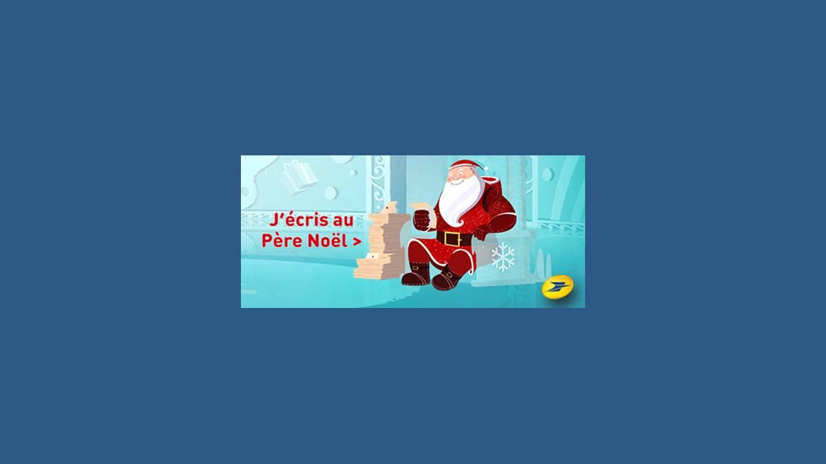 Lettre ou Mail au Père Noël (site officiel)