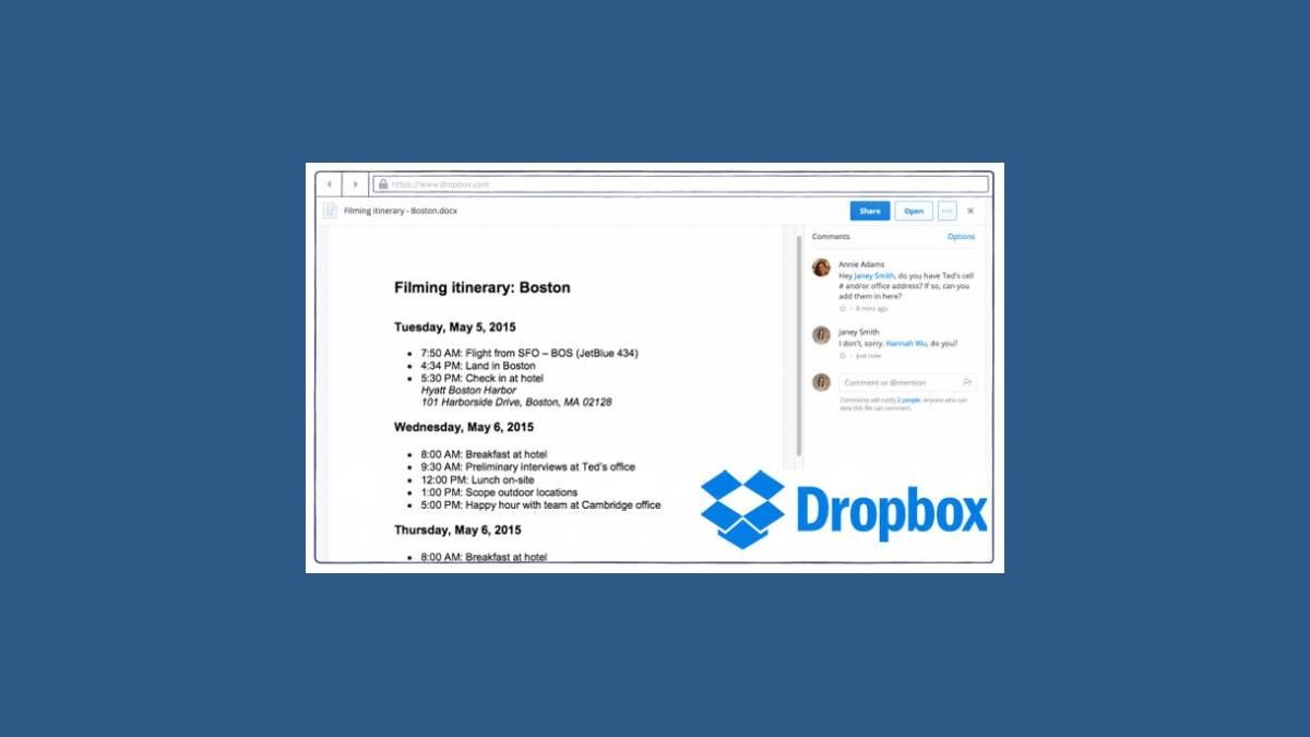 Drobox pour PC et Mac OS X