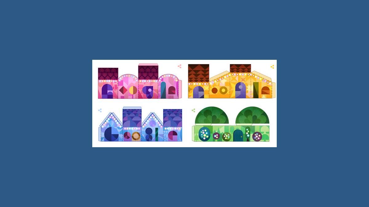Doodle Joyeuses Fêtes de Google (la suite)