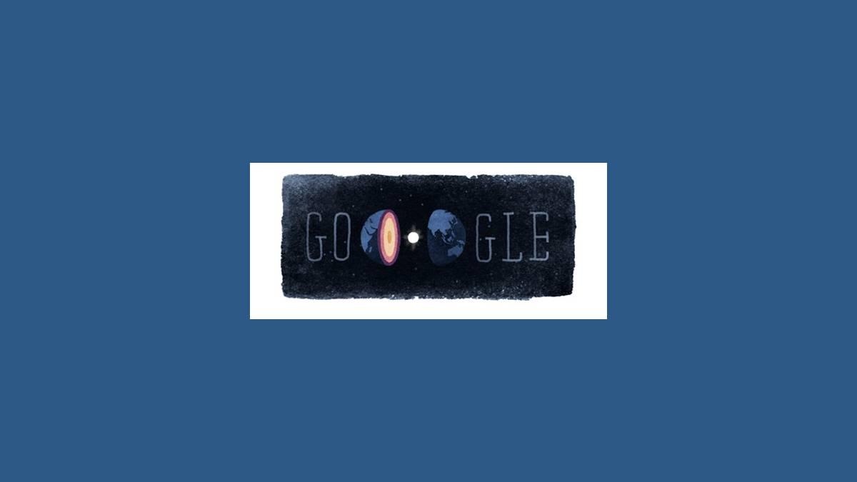 Le Doodle Inge Lehmann sur Google