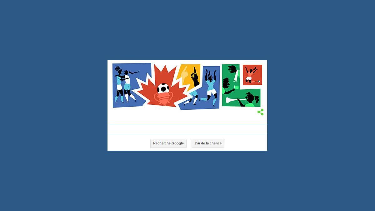 Doodle coupe du monde féminine de football 2015