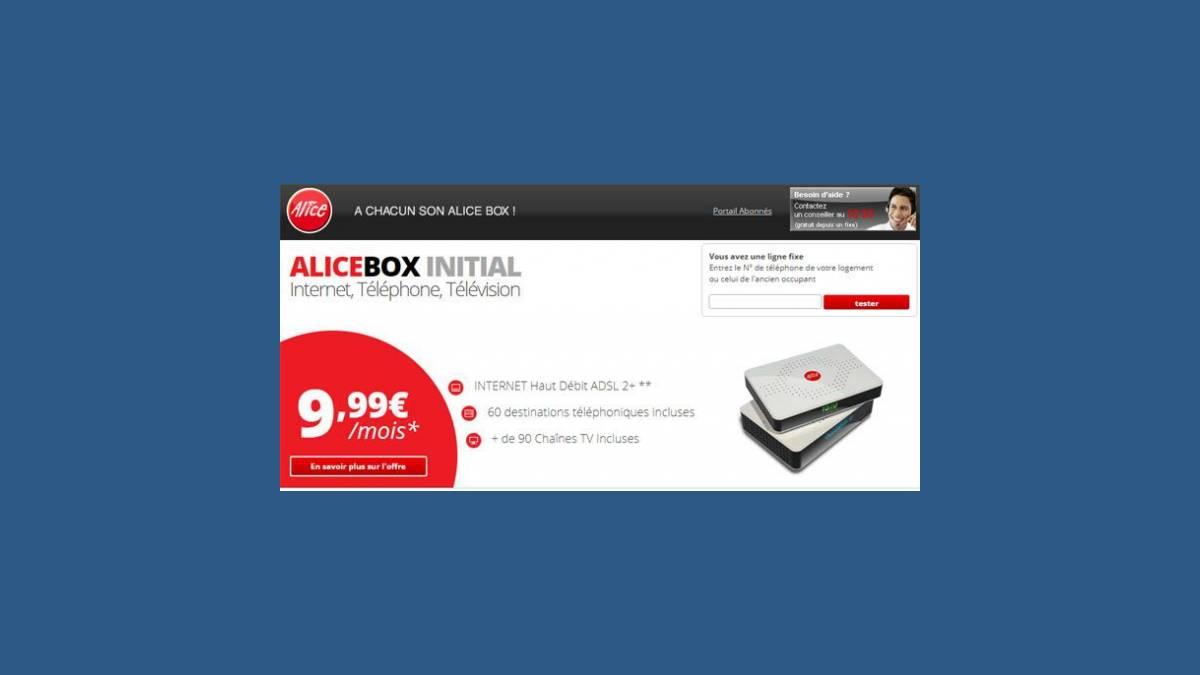 Clap de fin pour l'Alicebox Initial
