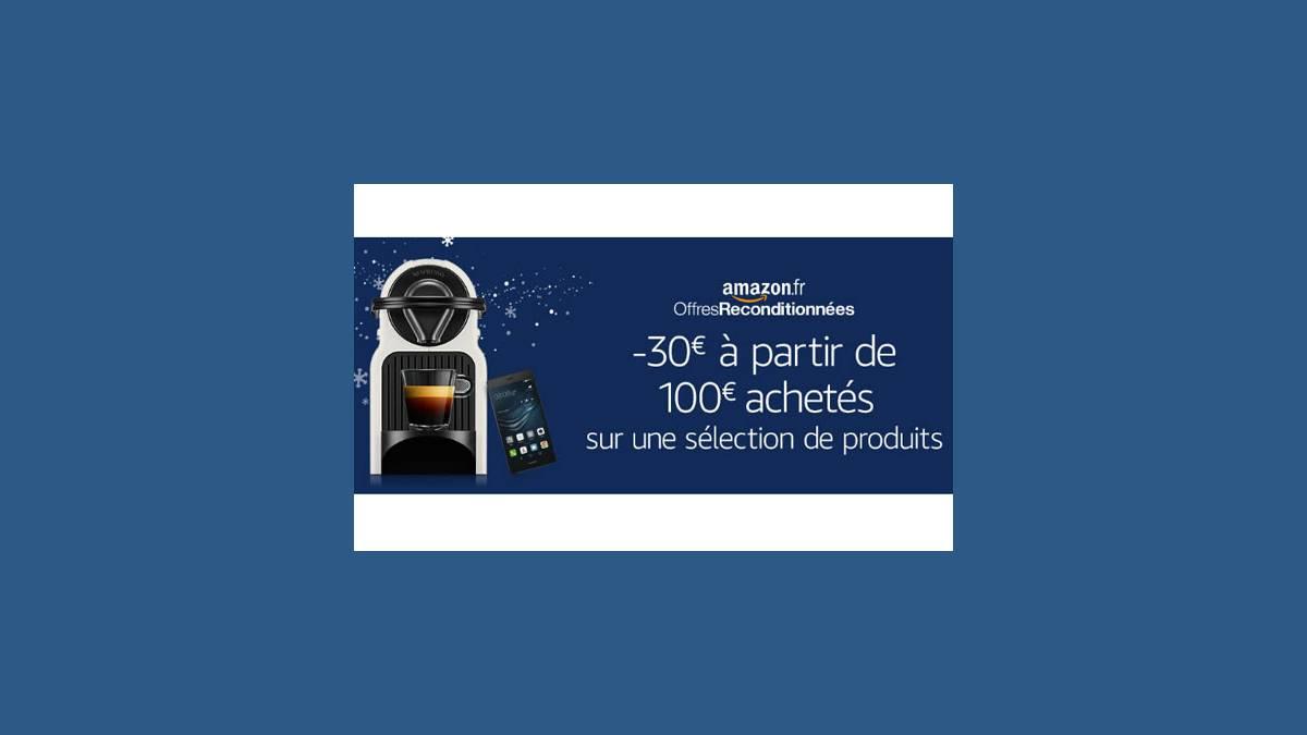 Amazon - 30€ dès 100€ d'achats