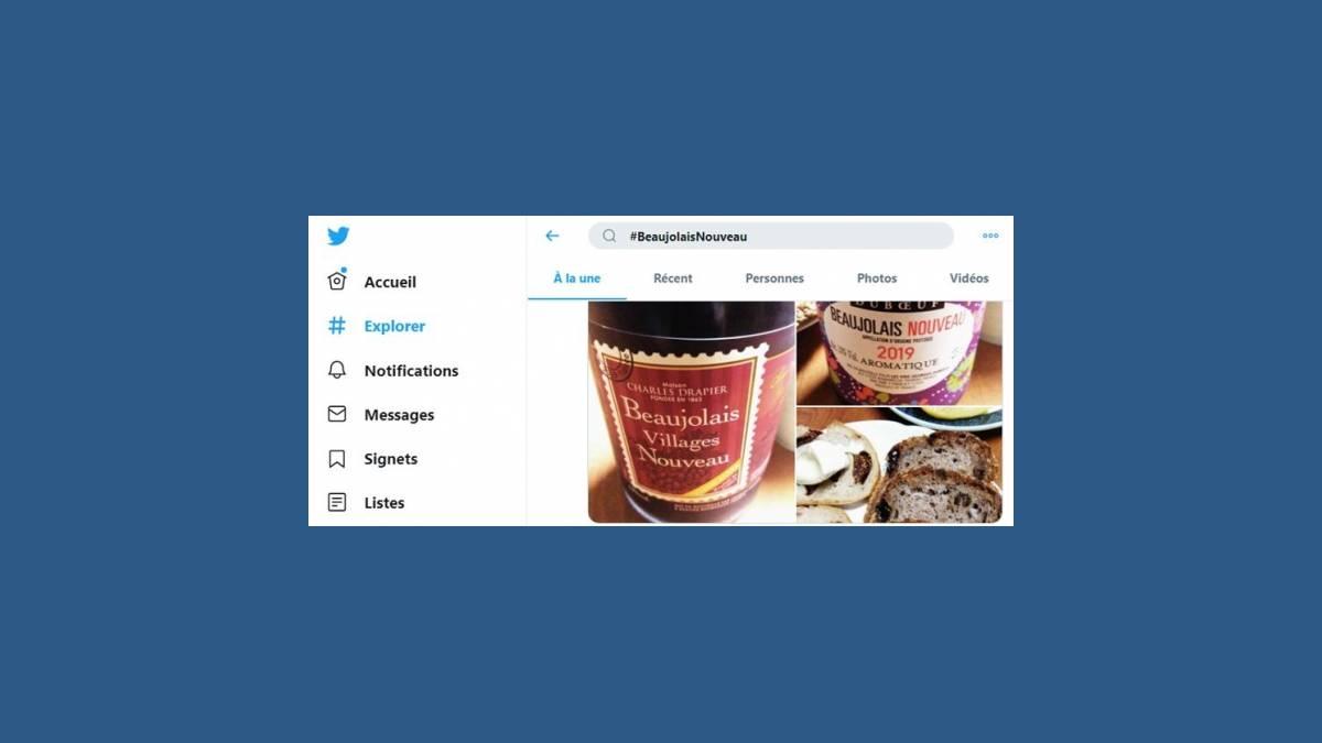 #BeaujolaisNouveau la cuvée 2019 sur Twitter