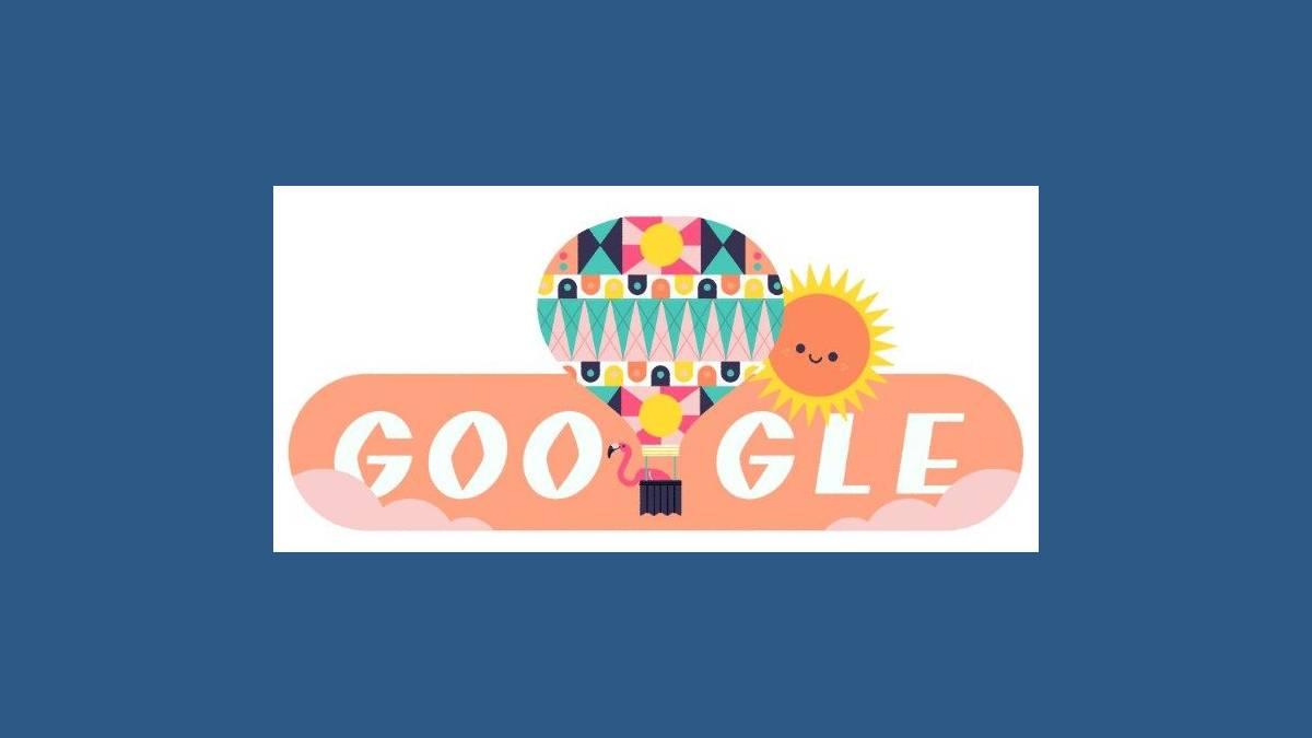 Bel été 2020 - Doodle Google Solstice d'été 2020