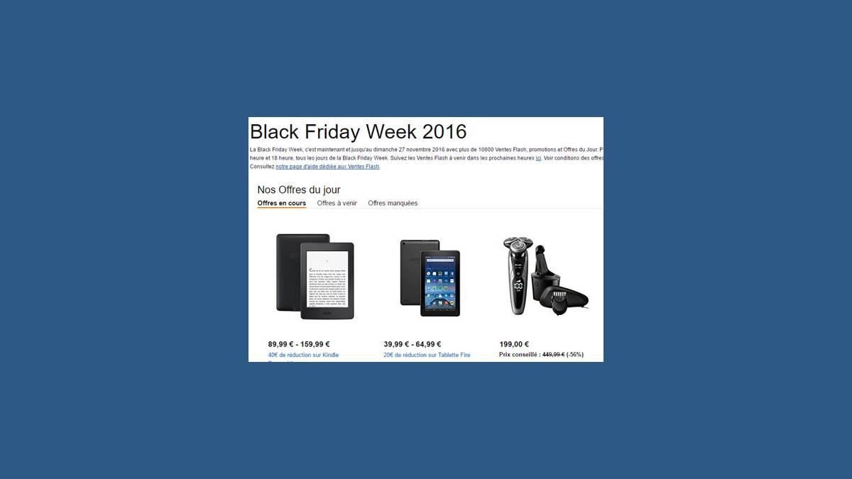 Black Friday sur Amazon
