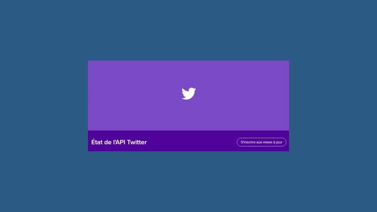 Bug API Twitter 2 octobre 2019