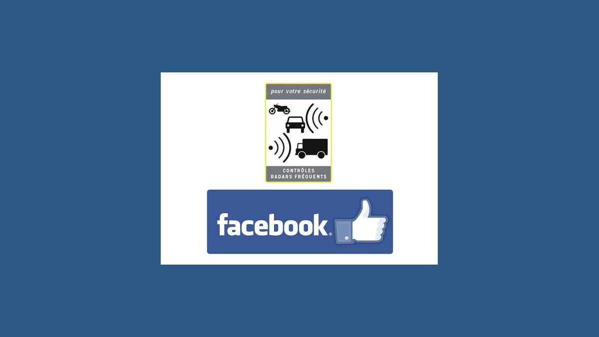 Alertes radars mobiles sur Facebook