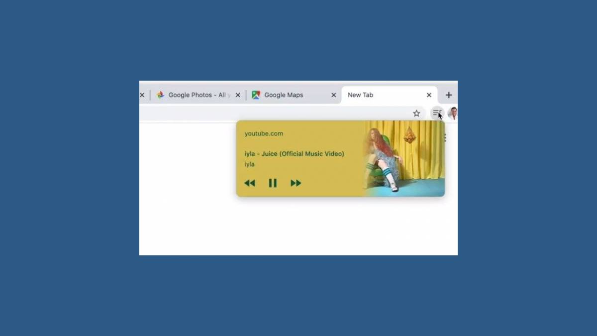 Google Chrome 79 avec contrôle multimédia