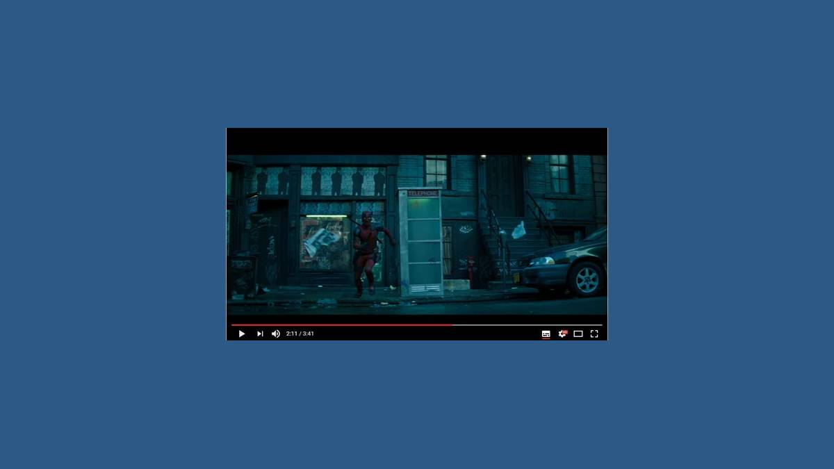 Teaser Deadpool 2 YouTube