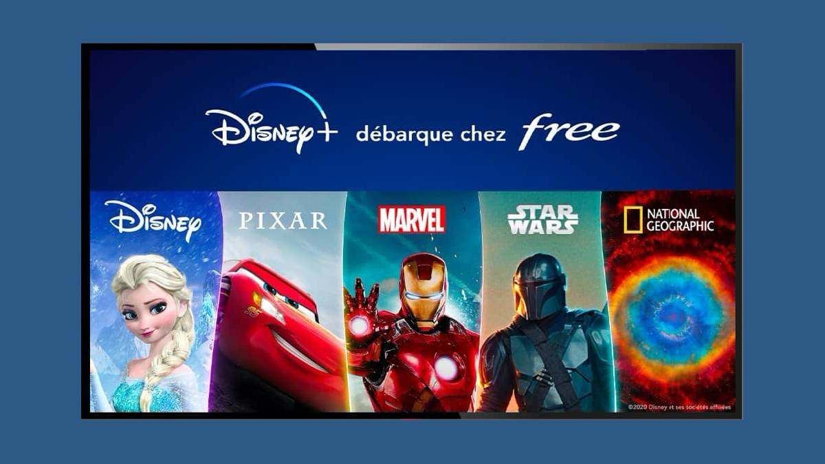 Disney+ le service de streaming débarque chez Free