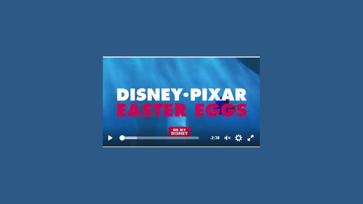 Capture Pixar Easter Eggs - Disney