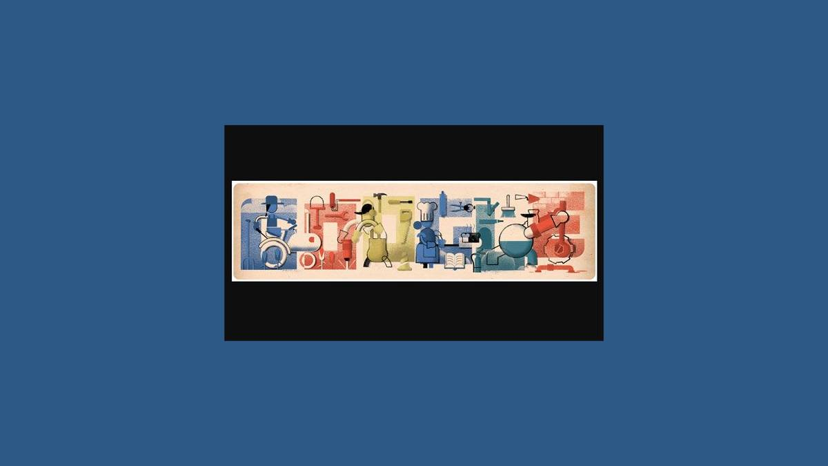 Doodle fête du Travail 2019 sur Google