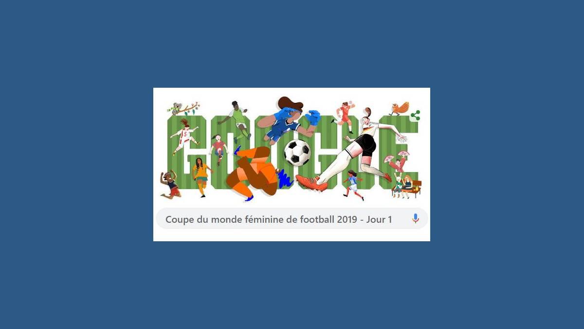 Doodle Coupe du Monde Féminine 2019