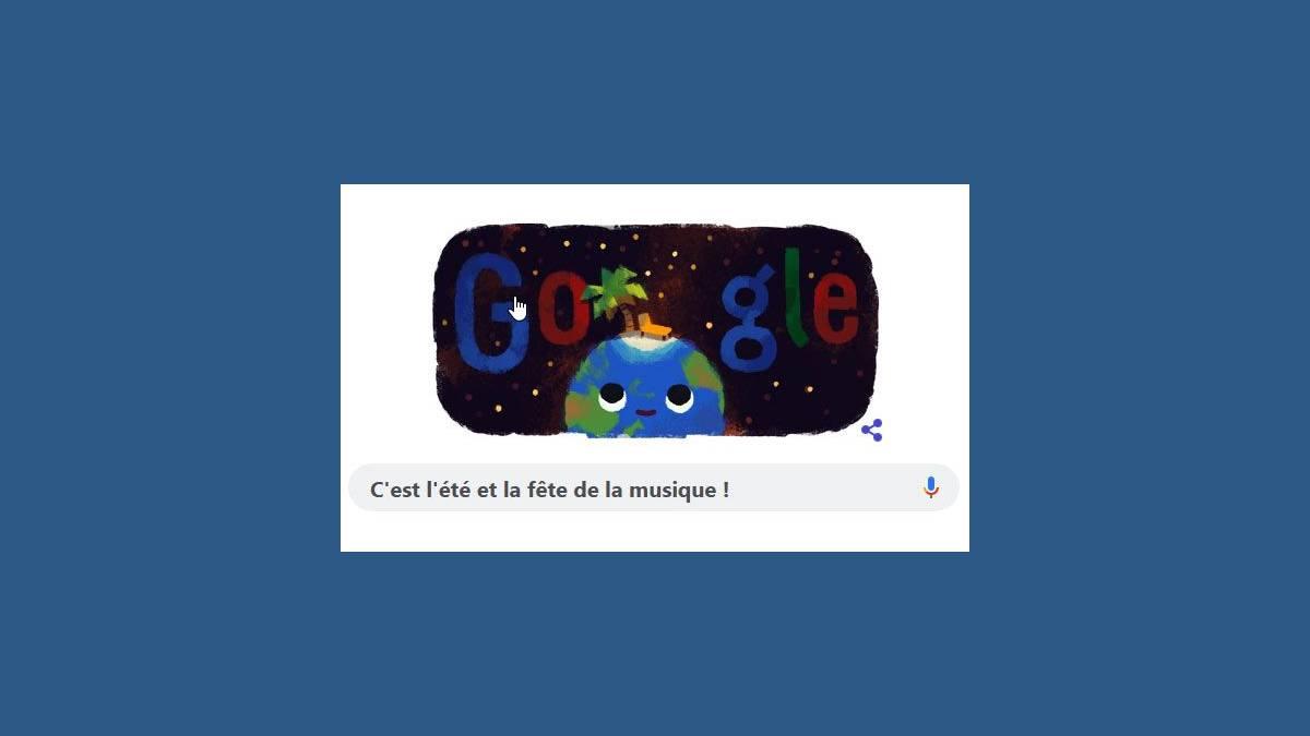 Doodle Google Solstice d'été 2019