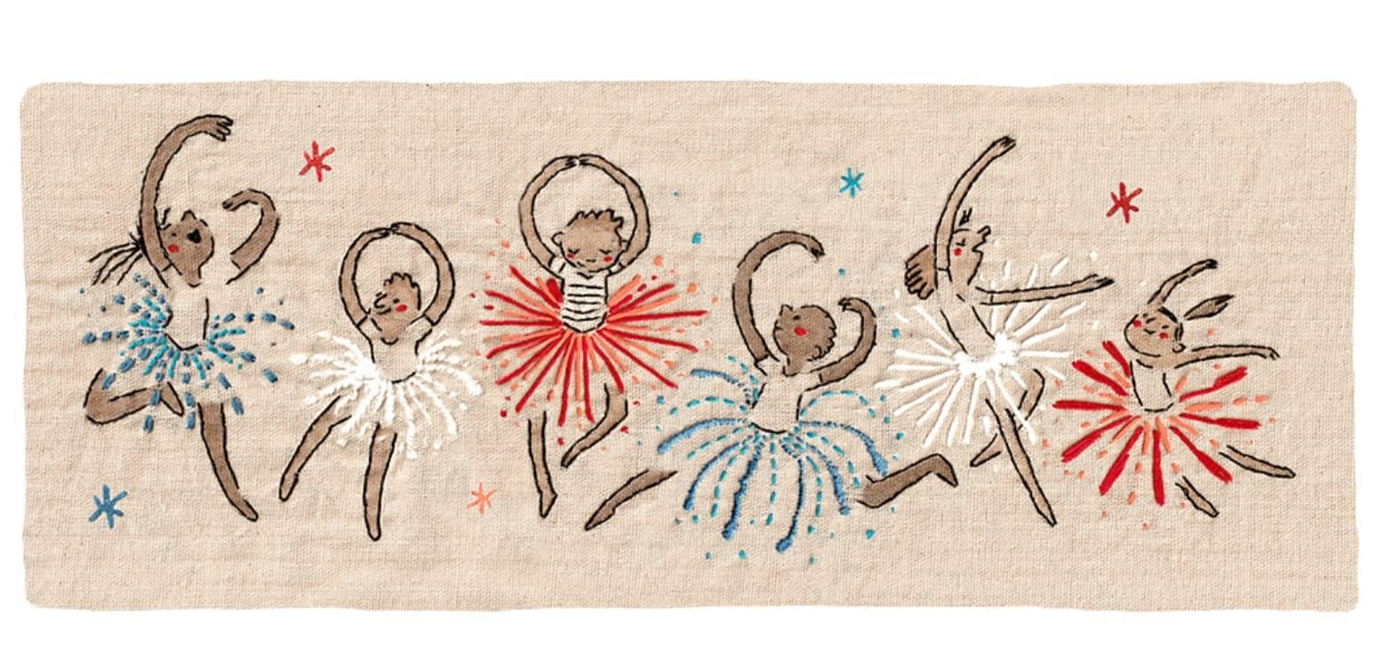Doodle Fête nationale du 14 juillet 2021 (Hélène Leroux)