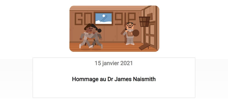 Le Dr James Naismith est à l'honneur sur Google
