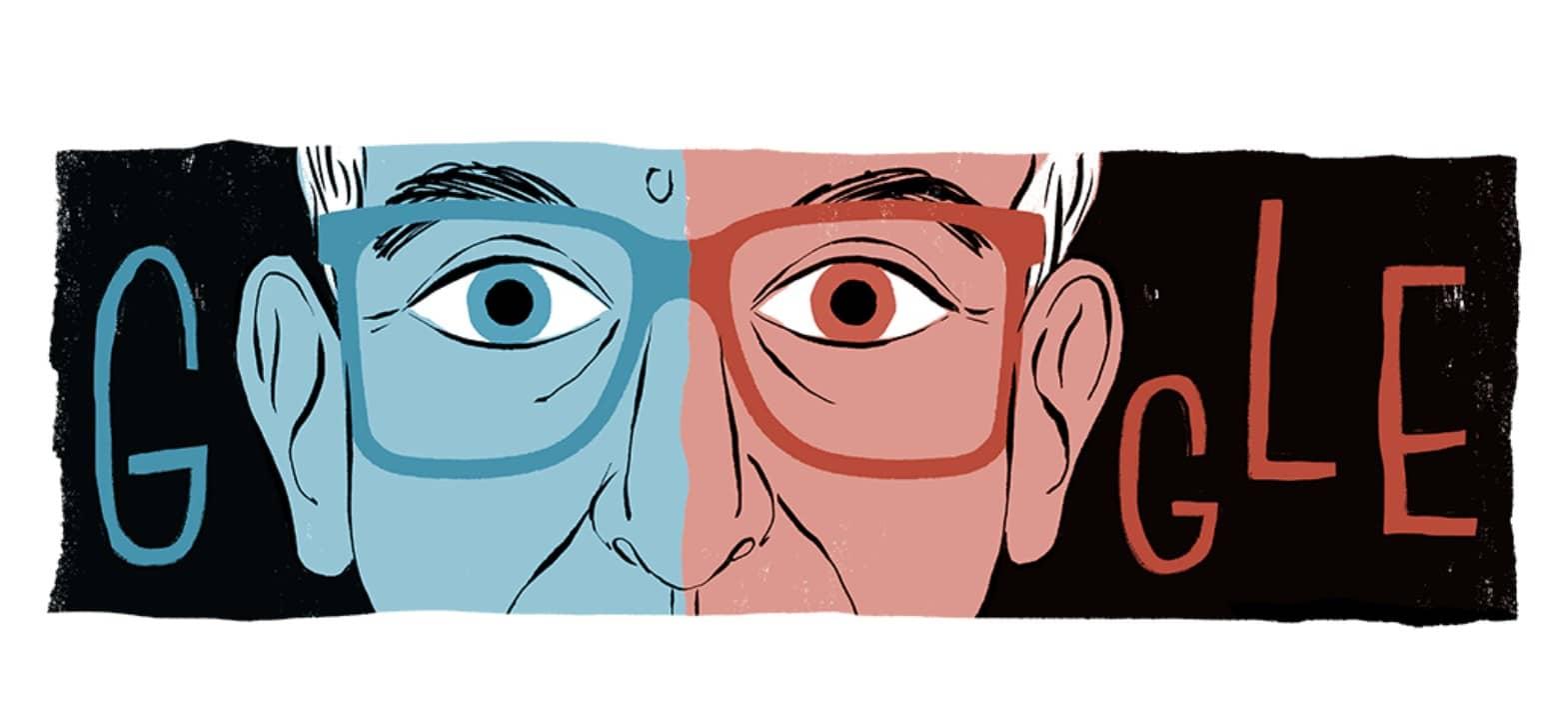 Doodle trilogie « Trois couleurs » de Krzysztof Kieślowski