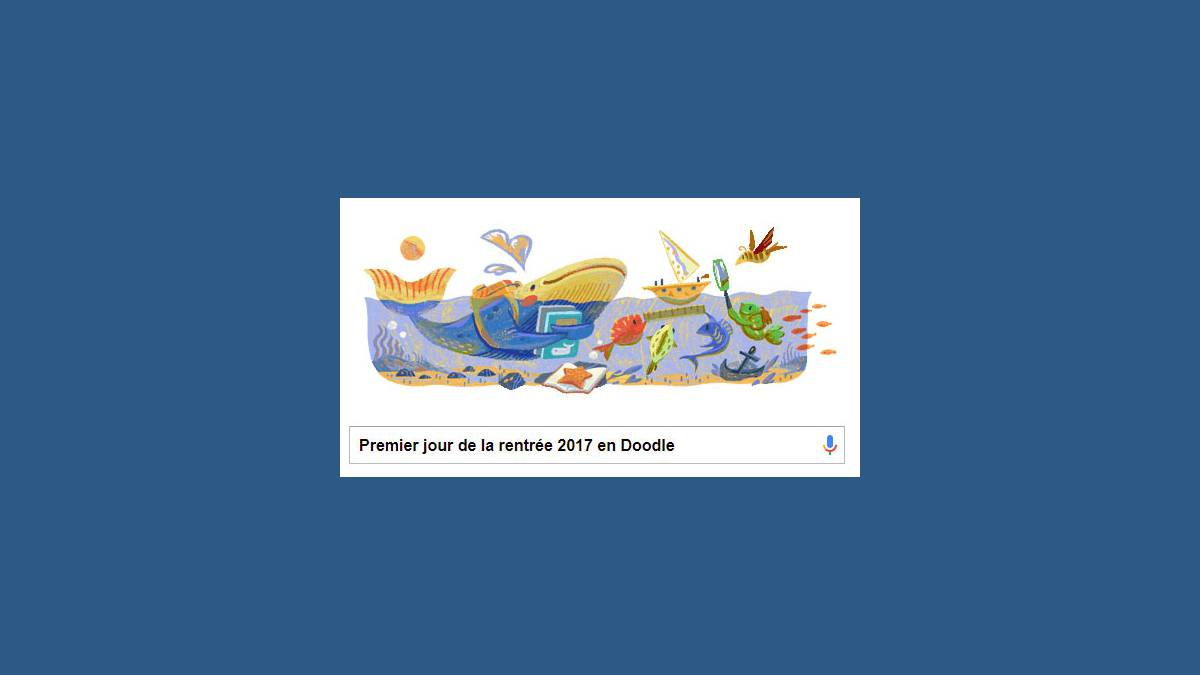 Doodle, Google, rentrée classes 2017