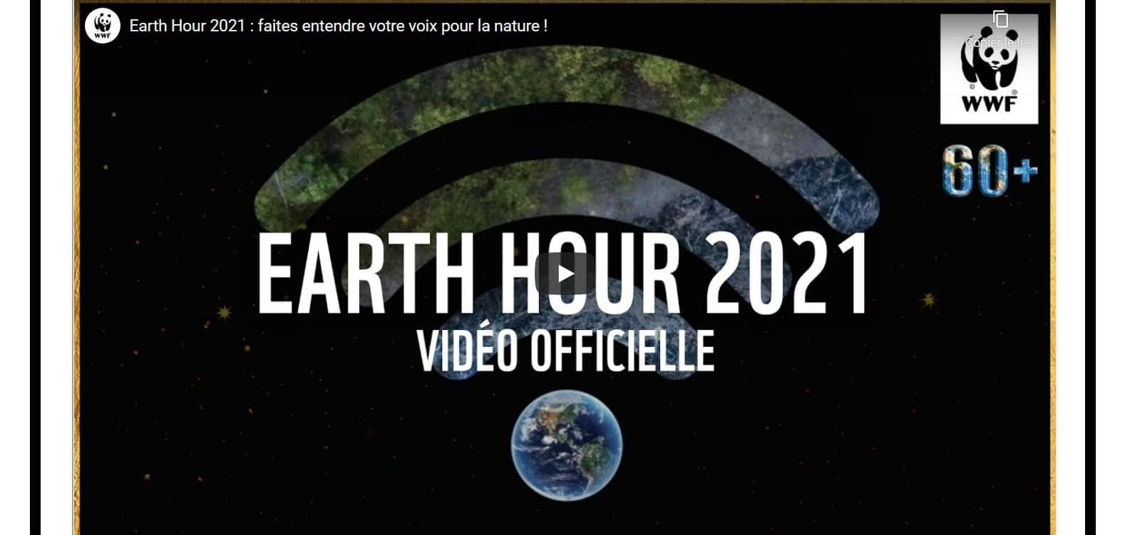 Earth Hour 2021 : 60 minutes pour les forêts