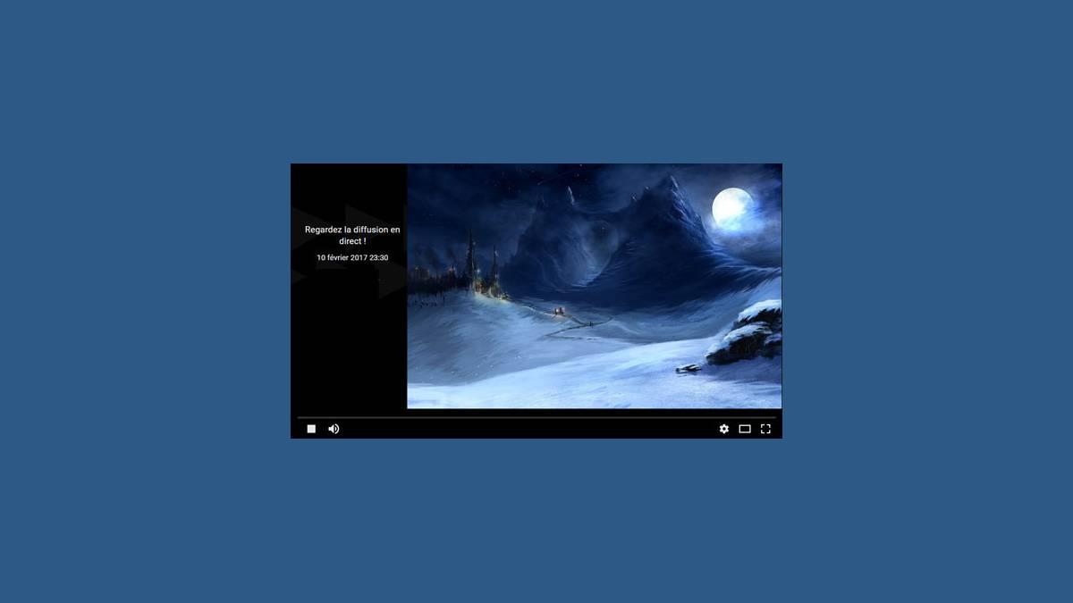 Éclipse partielle Lunaire en direct live