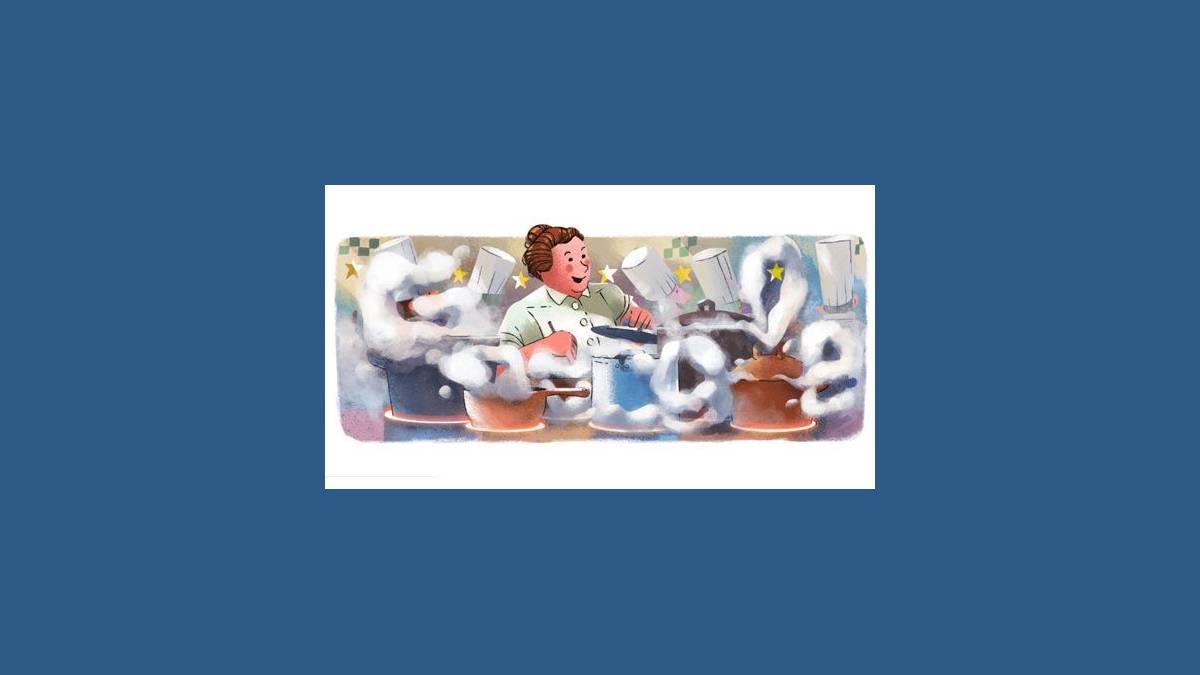 Doodle culinaire Eugénie Brazier