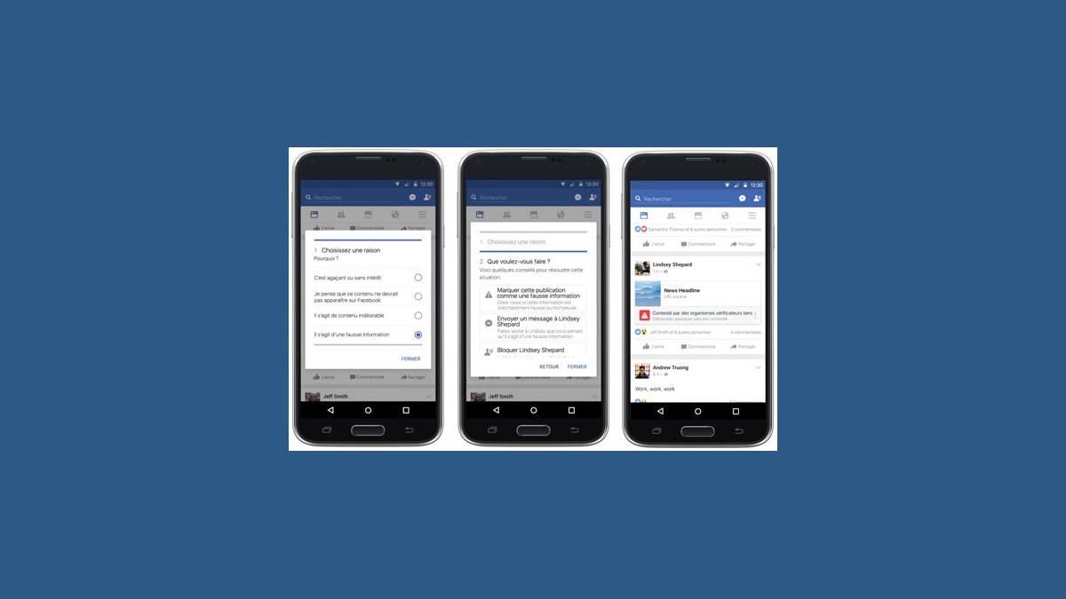 Facebook outil fact-checking anti Fake News