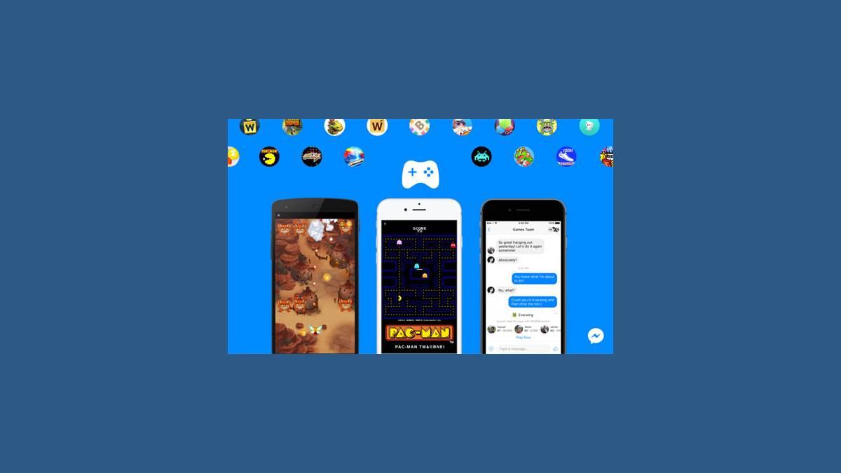 Facebook Instant Games sur Messenger
