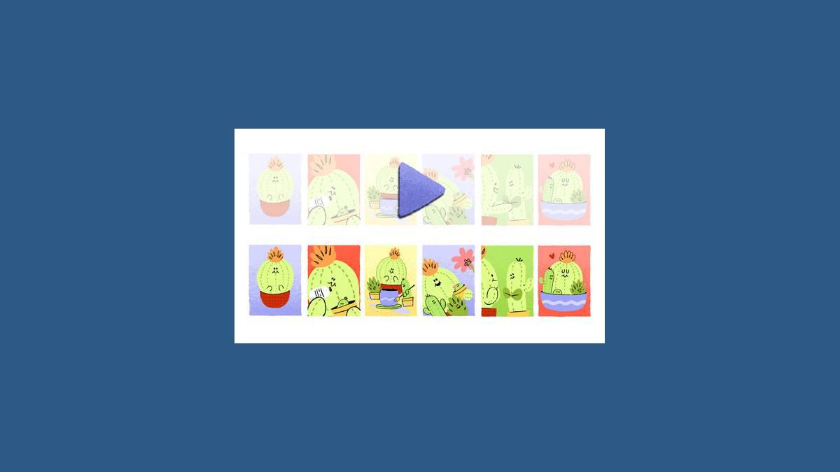 Doodle fête des mères avec des piquants