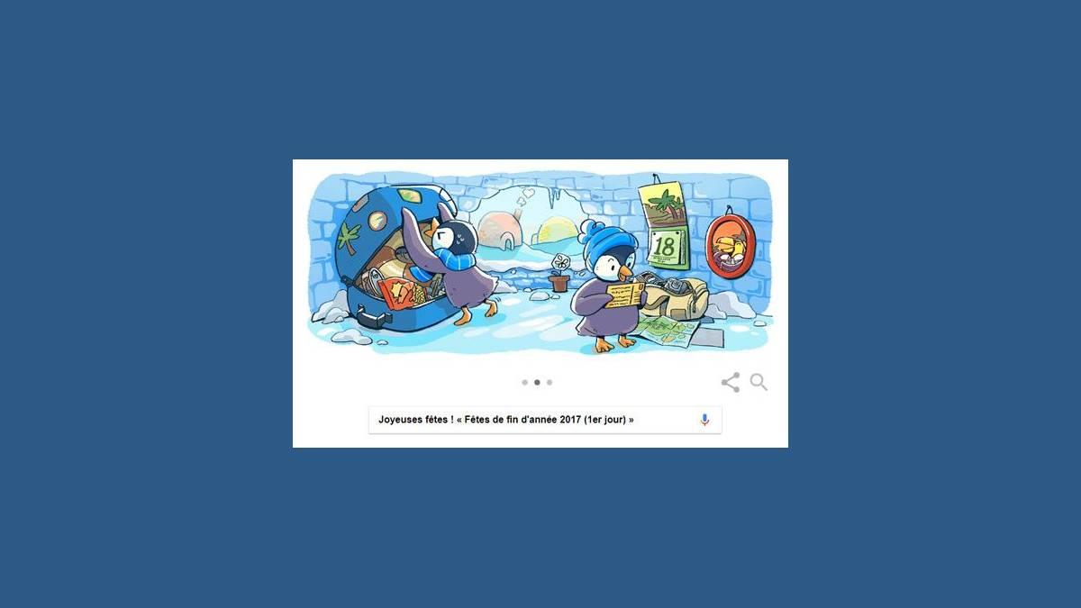 Doodle « Fêtes de fin d'année 2017 (1er jour) »