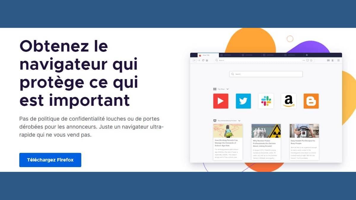 Télécharger la mise à jour de Mozilla Firefox 82